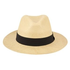 Other - Unisex Panama Style Straw Paper Hat